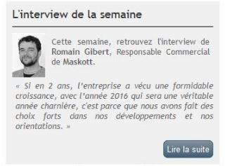 Article interview Romain Gibert Bsoco Tactileo Maskott Digital Learning e-learning